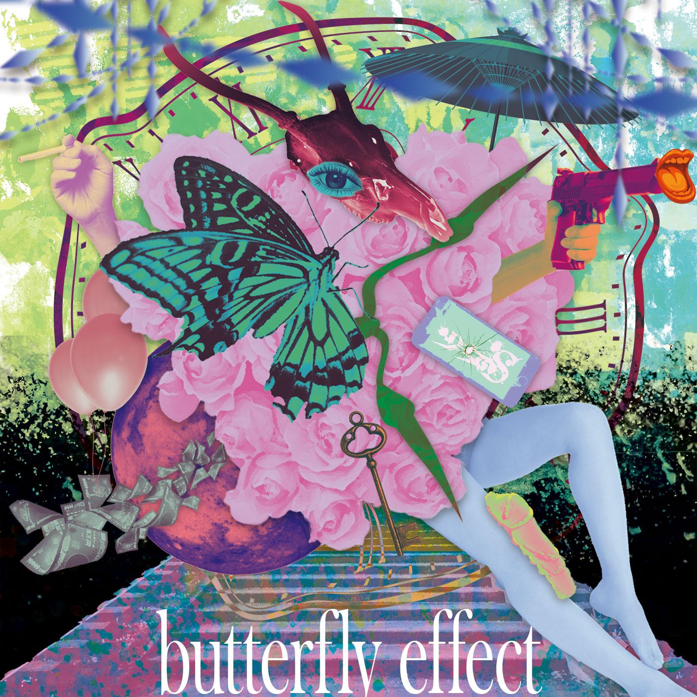 1st Single「butterfly effect」